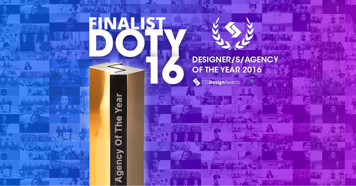 Designer/Agency of the Year Finalist