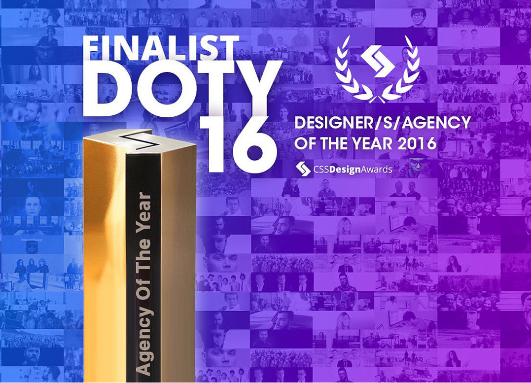 Designer/ Agency of the Year  Finalist