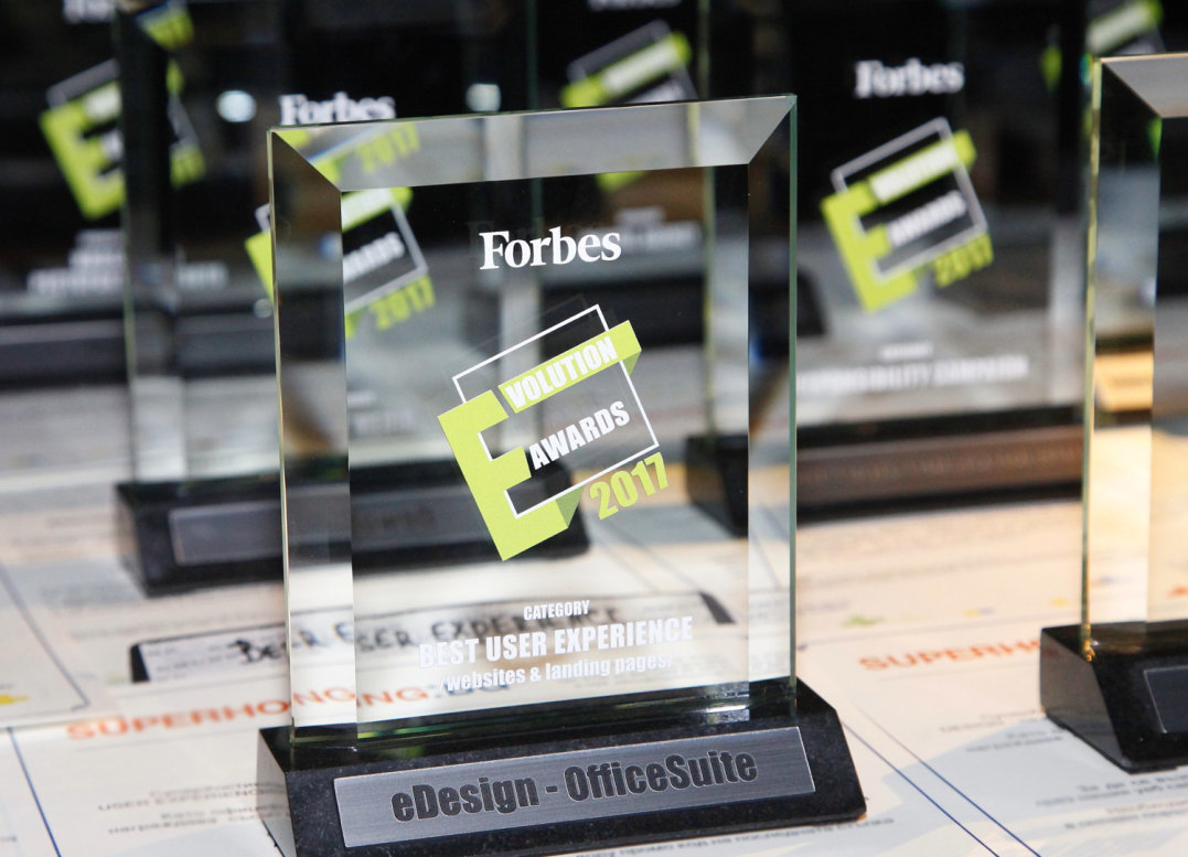 Best Web Agency: Forbes E-Volution Awards