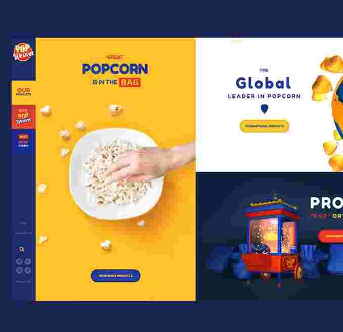 Weaver Popcorn #3
